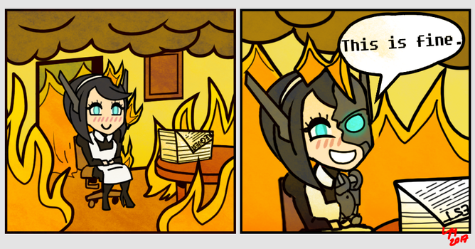 This is fine. by Ezula-87