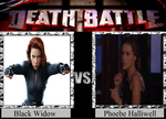 Black Widow vs. Phoebe Halliwell by JasonPictures