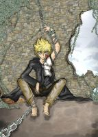 Kingdom hearts II -Roxas- by crocell