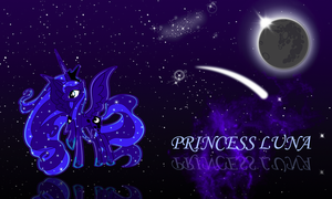 Princess Luna by Dinayra
