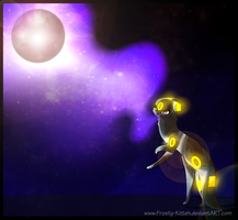 Umbreon used Moonlight! by Frosty-Kitteh