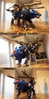 Zoids Shield Liger  Bang Version + Custom Stock by IrishWolven