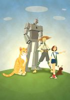My version of Oz by luisilustra