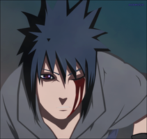 Sasuke in Susanoo by exdarkstyle
