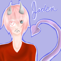 Jaden the Demon by RadioactiveRina-chan