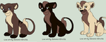 Zane litter 1 Cubs for xatomicautobotx by Foreverloved525