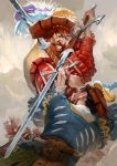 Landsknecht fight by GuzBoroda
