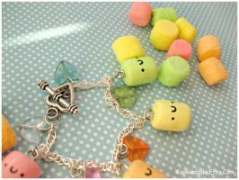 Color Marshmallow Bracelet V by sunnyxshine