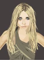 Ashley Olsen vector by MidniteHearts