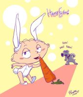 Easter Bunny by Penelles