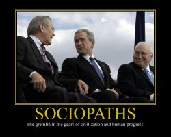 Sociopaths Motivational Poster by DaVinci41