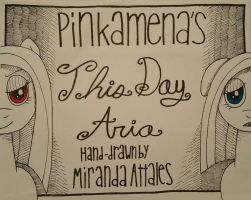Pinkamena's This Day Aria Comic (Video) by Oceanblue-Art