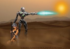 ...Human hunter ... by Antiochia