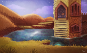 DAY 132. Spyro - Evening Lake (35 Minutes) by Cryptid-Creations
