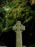 celtic cross by pixini-stock