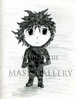 Edward Scissor Hands by themaskgallery
