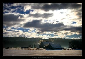 Morning in Meredith Township by tfavretto