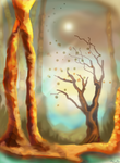 The Last Leaves of Autumn by puzzledpixel