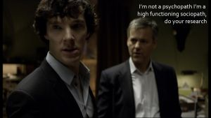 High Functioning Sociopath by BethXP