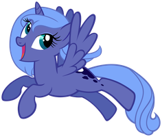 Luna - Just a regular old Alicorn by Unfiltered-N