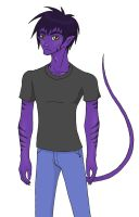The Invisible Purple Man by TartarusWolf