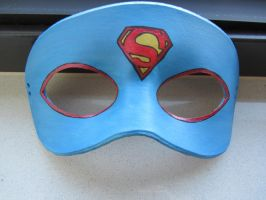 Superman mask by maskedzone