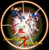 Street Fighter X Guilty Gear Cover by SearingComic851