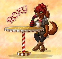 Commission: Roxy by AttackTheMap