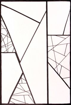 2011. Geometric Abstract by mhebertfashion
