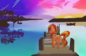 Sunset - Warm Up by HiccupsDoesArt