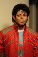 Michael Jackson Beat It Lifesize torso display by godaiking