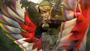 Link! That isn't a flute!! by xXBlackNexusXx