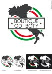 Boutique od boty logotype by ideareattiva