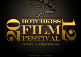 Film Festival Poster by vivsters