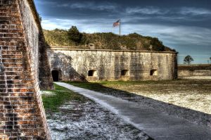 The grounds around Fort Pickens by efcooper