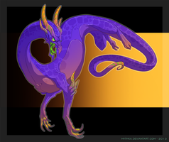 Random Dragon 11 (2013) by Mythka