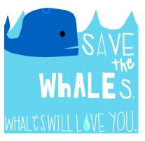 Save The Whales by WhoIsRJunie
