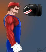 Mario real Mushroom Power-Up by AveryMoneco