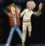Marty McFly and Doc Brown by jc-starstorm
