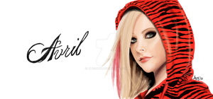 Avril Lavigne Facebook Graffit by alissavb