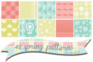 Spring patterns by maytel by maytel