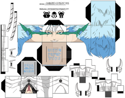 GRIMMJOW JEAGUERJAQUES CUBEE by animepapertoys