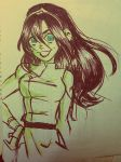 fan art-Toph grown up by SAcommeSASSY