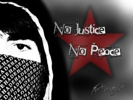 No Justice No Peace by theIwitcher