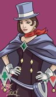 Apollo Justice: Trucy Wright by bratchny