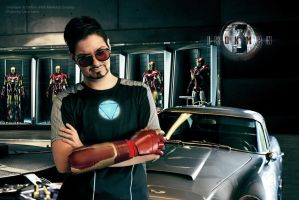 Tony Stark - Iron Man 3 by IrethMinllatur