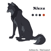Alexa the female wolf by Lobo-the-Wolf