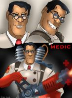 Team Fortress 2 - Medic by VenomEXsoldier