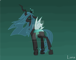 Queen Chrystalis by Luna-Andrade