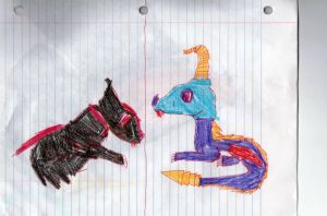 My dragon pets by DHXfamily